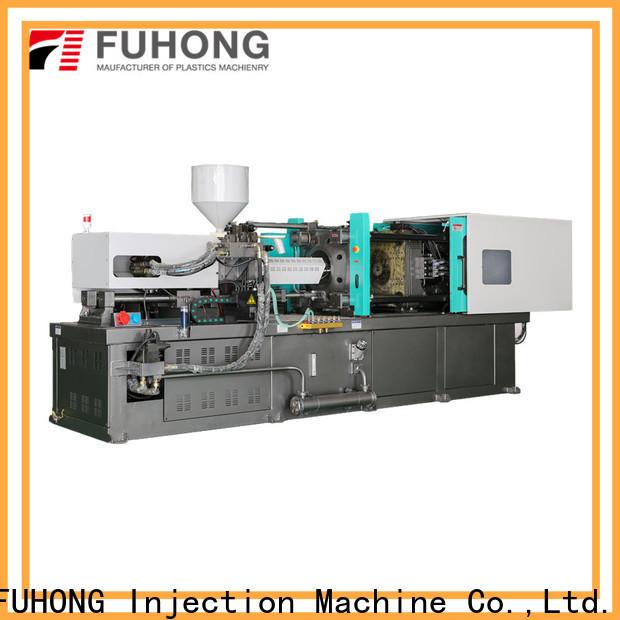 FUHONG pvc plastic bottle injection molding machine factory for glass